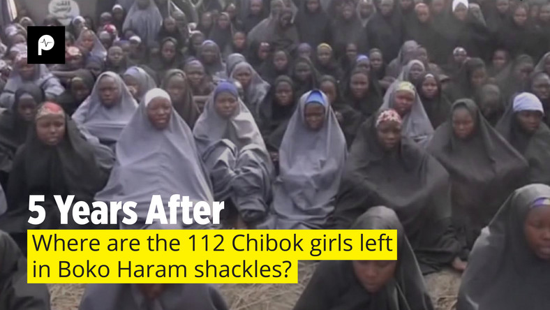 276 Chibok schoolgirls were abducted by Boko Haram five years ago. 164 have returned, but 112 other girls remain unaccounted for