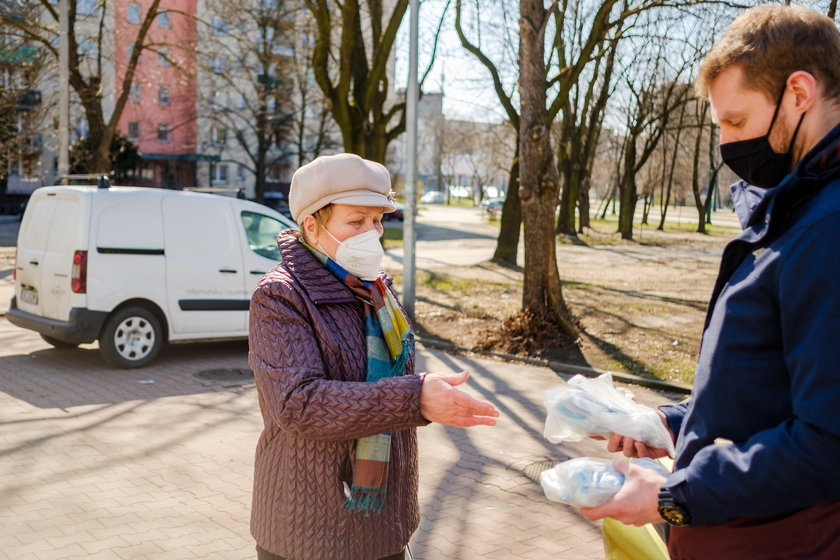 Darmowe maseczki dla mieszkańców Sosnowca