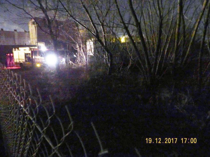 Policja znalazła zwłoki na mokradłach. Tajemnicza śmierć koło Brzezin