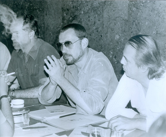 Ranko Munitic (1943-2009) u sredini