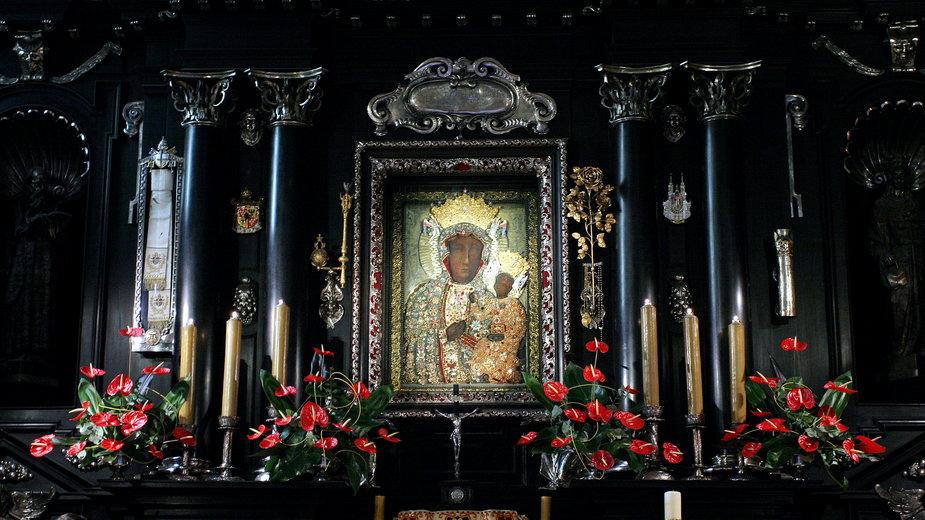 Obraz Matki Boskiej Częstochowskiej na Jasnej Górze