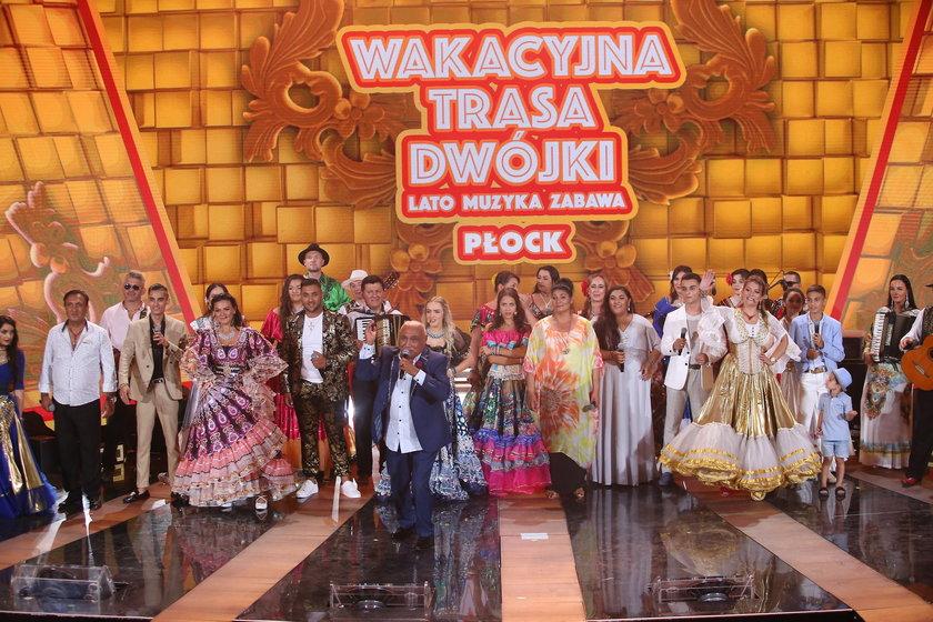 Wakacyjna Trasa Dwójki 2021. Zobacz zdjęcia z koncertu w Płocku