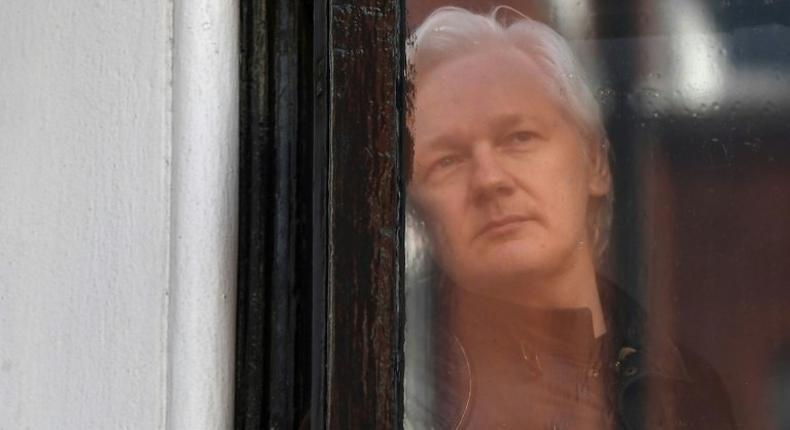 Wikileaks founder Julian Assange likens his stay at the Ecuadorian embassy in London to living on a space station