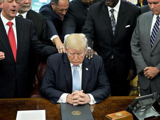 President Trump Declares Sunday A National Day Of Prayer For Hurricane Harvey Victims
