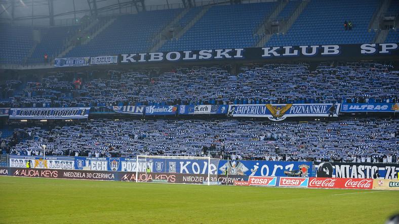 Policja chce zamknięcia stadionu Lecha