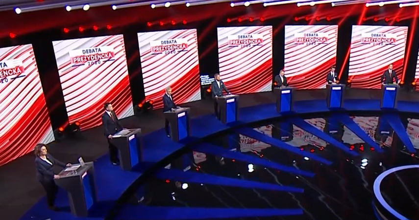 Debata prezydencka 2020. Kandydaci o polityce społecznej i wieku emerytalnym