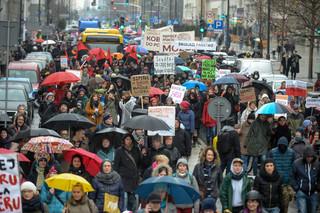 'Aborcja w obronie życia'. XVII Manifa na ulicach Warszawy