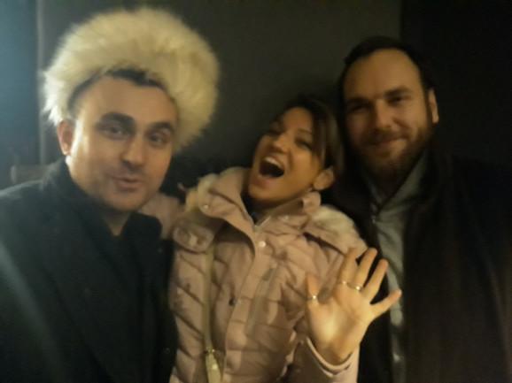 Nina Petković, Igor Cukrov i Đorđe Gogov sada