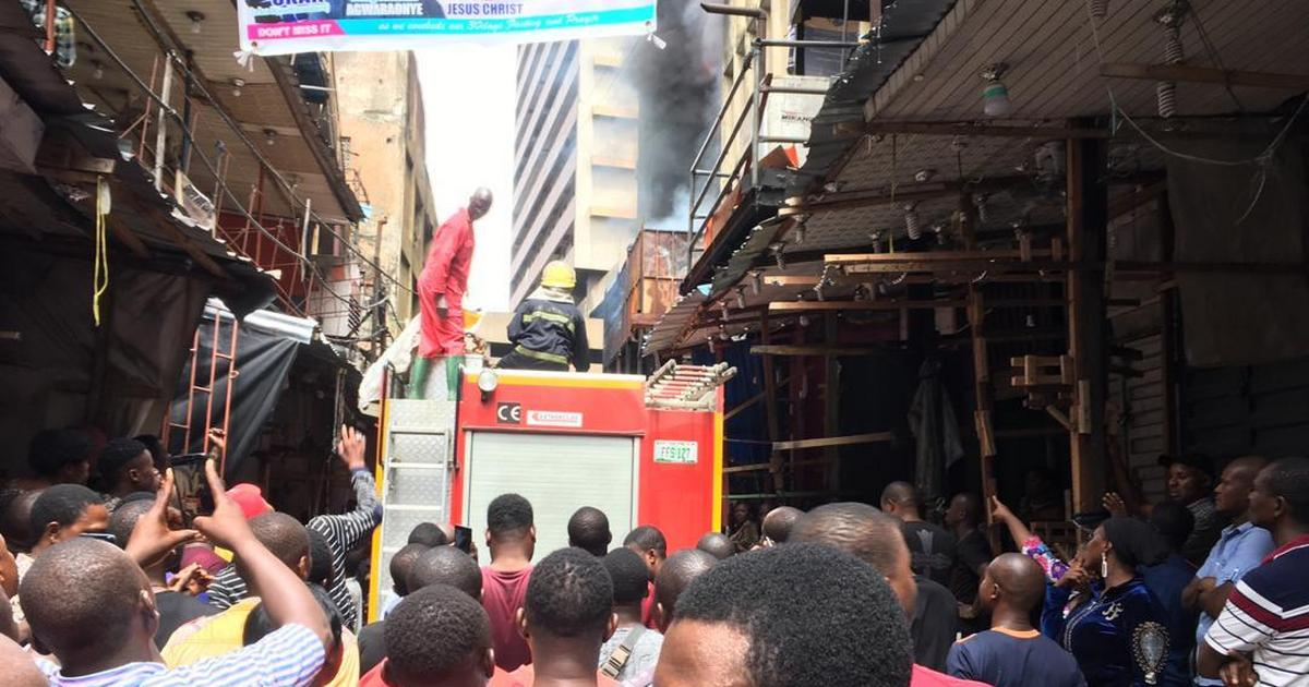 Balogun Market Fire: Minister expresses concern, commiserates with victims - Pulse Nigeria