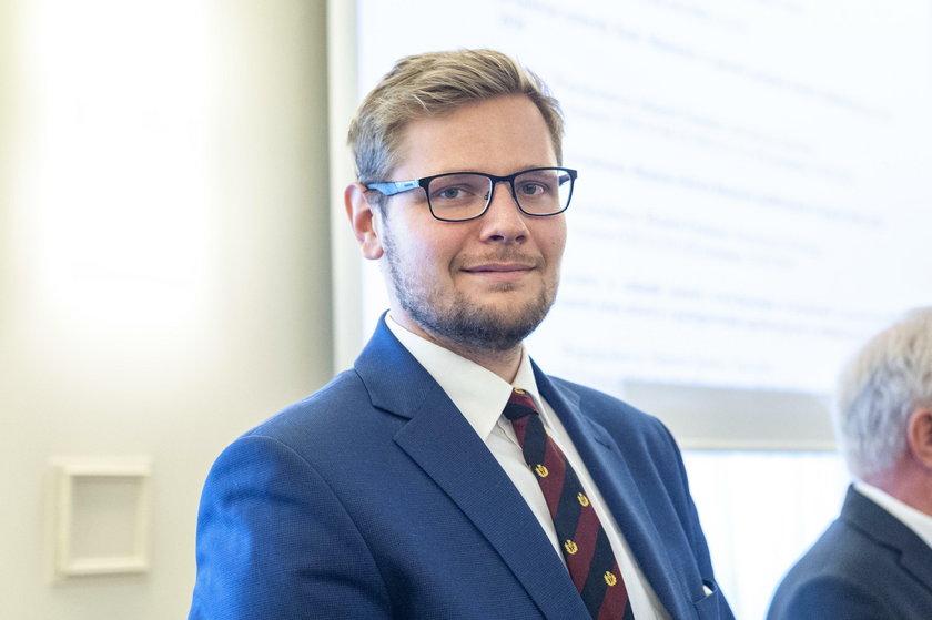 Michał Woś. Szef Ministerstwa Środowiska
