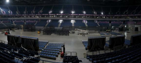 Spremanje Arene za Evropsko prvenstvo u atletici