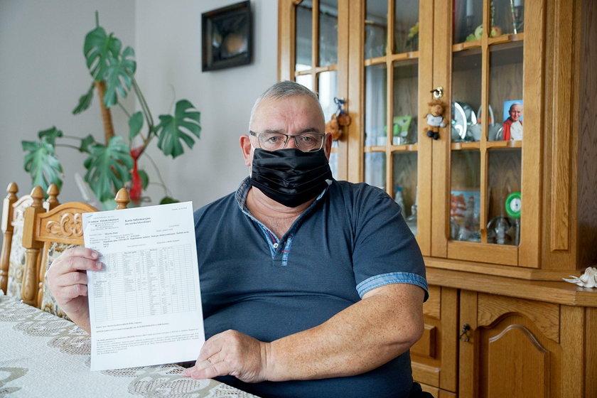 Po długiej walce z chorobą mężczyzna został wypisany do domu