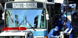 Bezrobotny ranił 13 osób w autobusie. FOTO