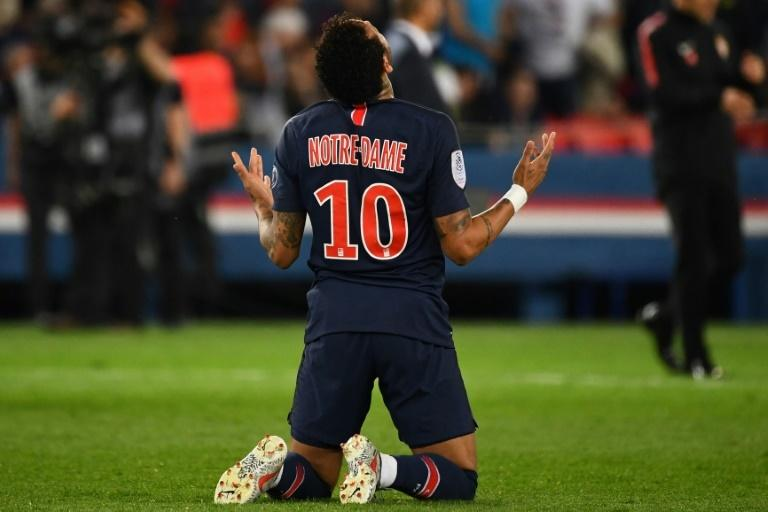 Neymar returned to help PSG wrap up the Ligue 1 title