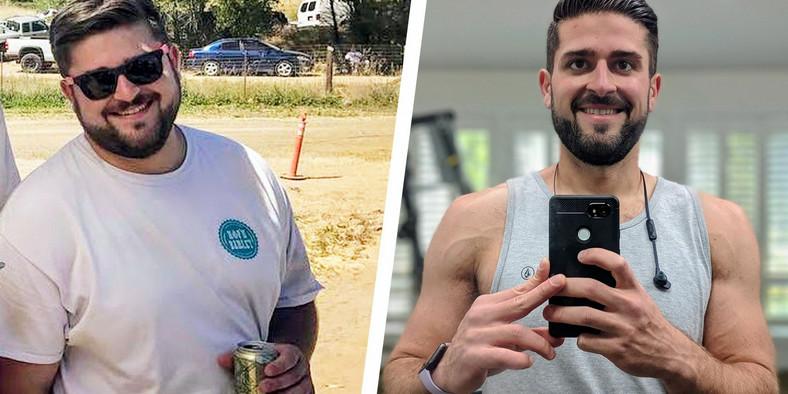Un but modeste a aidé ce gars à perdre 100 livres