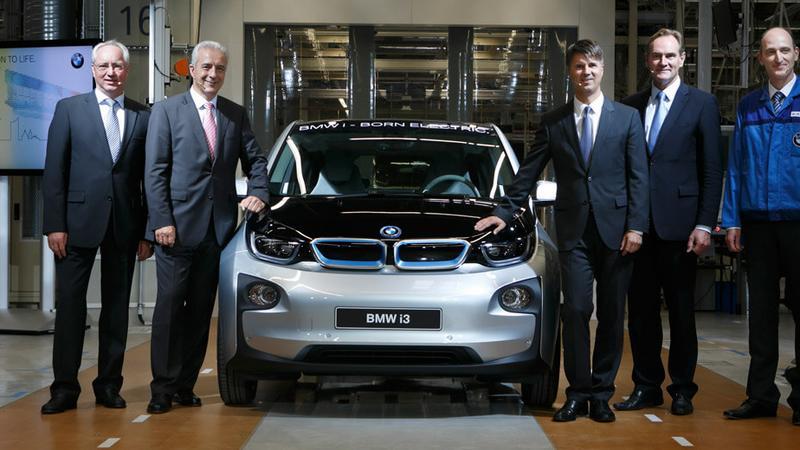 Jubileuszowy egzemplarz BMW i3