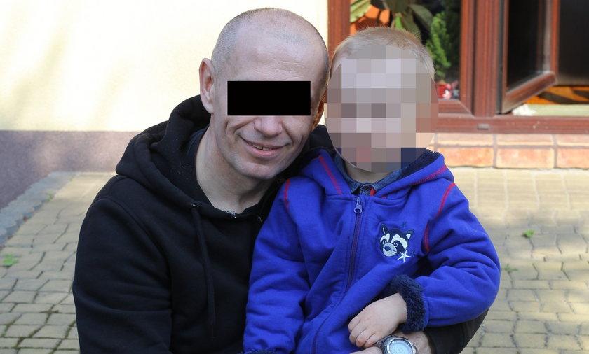 Fabian z ojcem