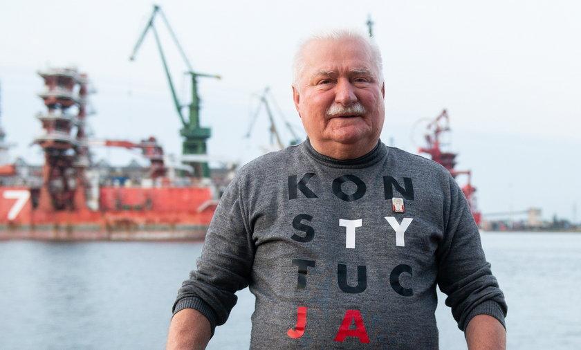 Lech Wałęsa jest zapalonym wędkarzem. Pomysły europosłanki bardzo mu się nie podobają.