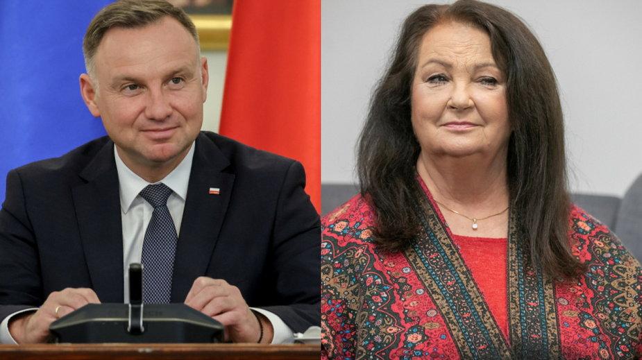 Prezydent Andrzej Duda, Anna Dymna
