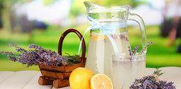 Aromatyczna lemoniada lawendowa