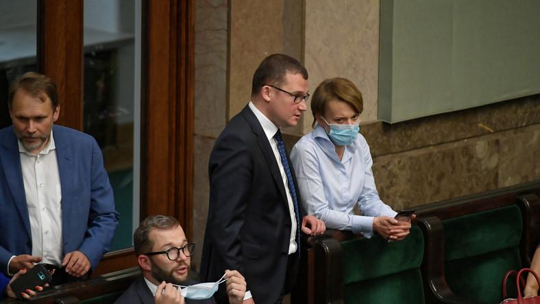 Paweł Szefernaker i Jadwiga Emilewicz