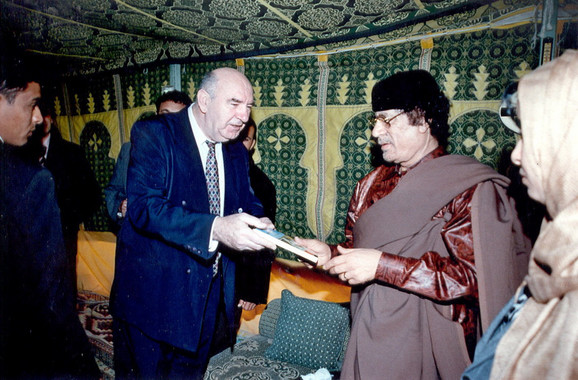 Dr Vukoje je Gadafiju poklonio knjigu o hrkanju