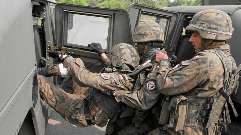 Ćwiczenia wojskowe we Wrocławiu