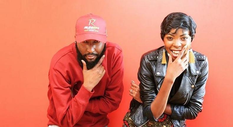 Shaffie Weru with Adelle Onyango. Popular Kiss 100 radio presenter quits after 7 years