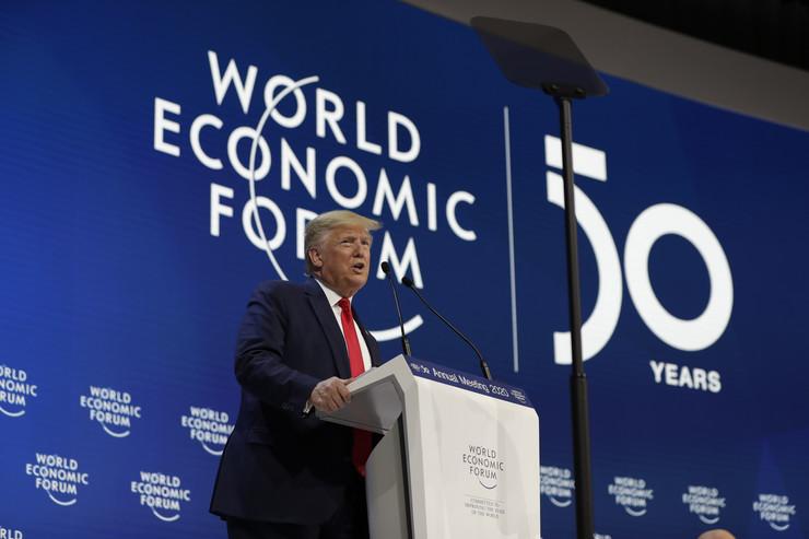 Donald Tramp Davos