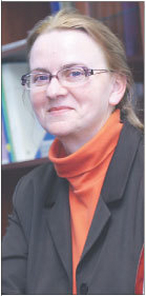 doc. dr hab. Gertruda Uścińska, z Instytutu Pracy i Spraw Socjalnych