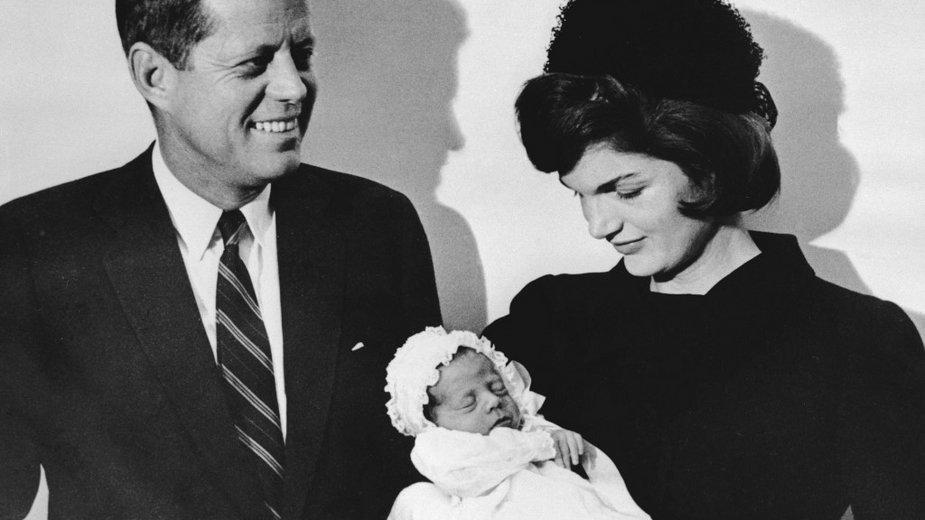 John F. Kennedy, Jacqueline Kennedy i John F. Kennedy Junior