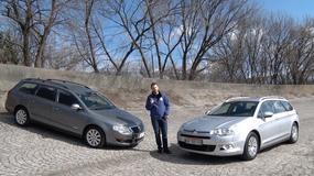 Używane kombi dla rodziny: Volkswagen Passat kontra Citroen C5