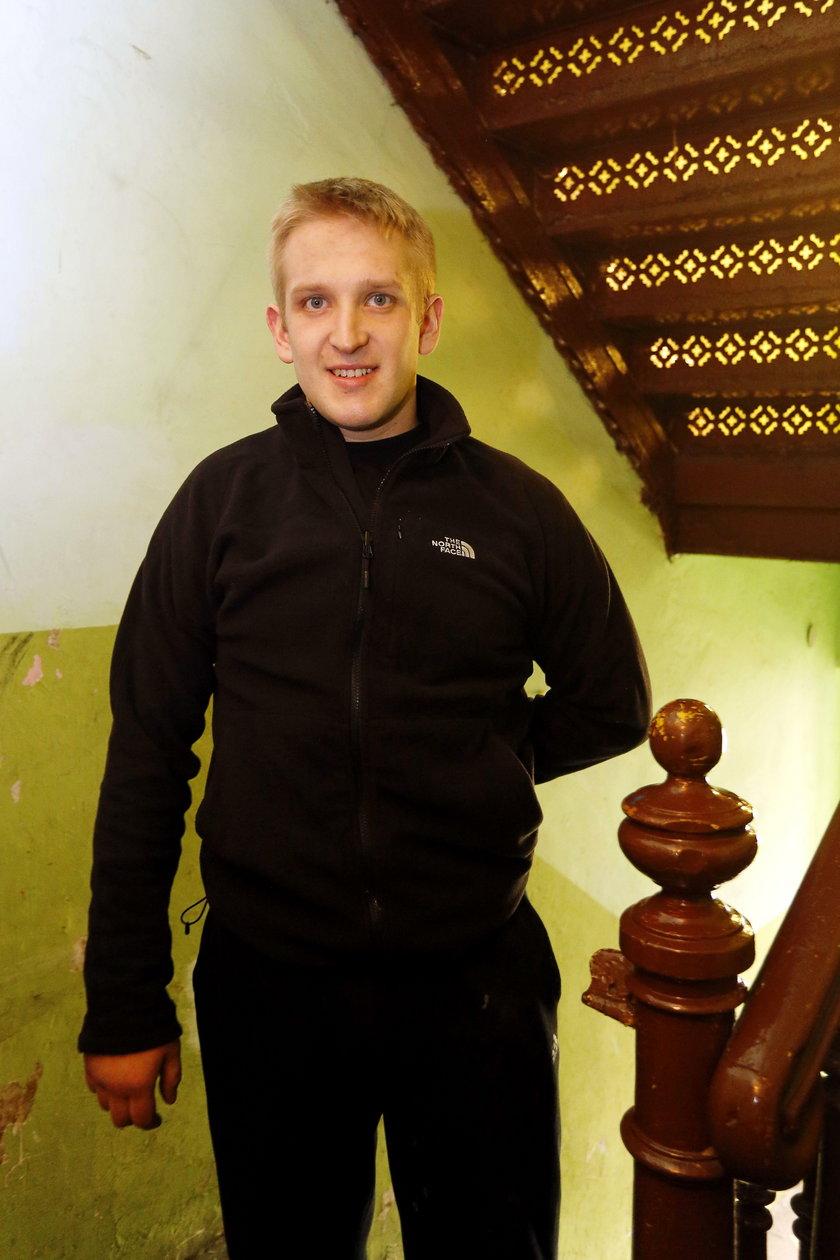 Adam Kwieciński (26 l.), sąsiad