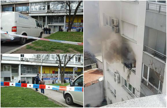 Nakon zločina otišao je u svoj stan, pucao sebi u glavu i izazvao eksploziju i požar