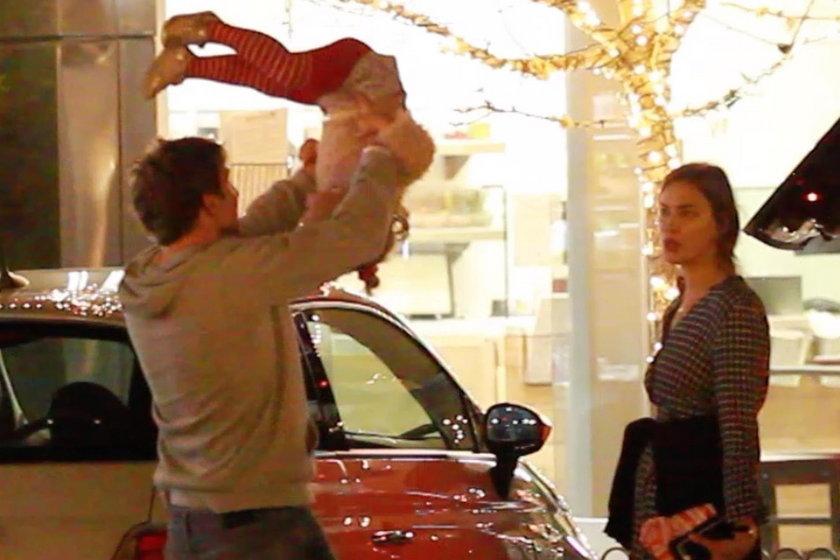 Bradley Cooper,  Irina Shayk i ich córka Lea De Seine