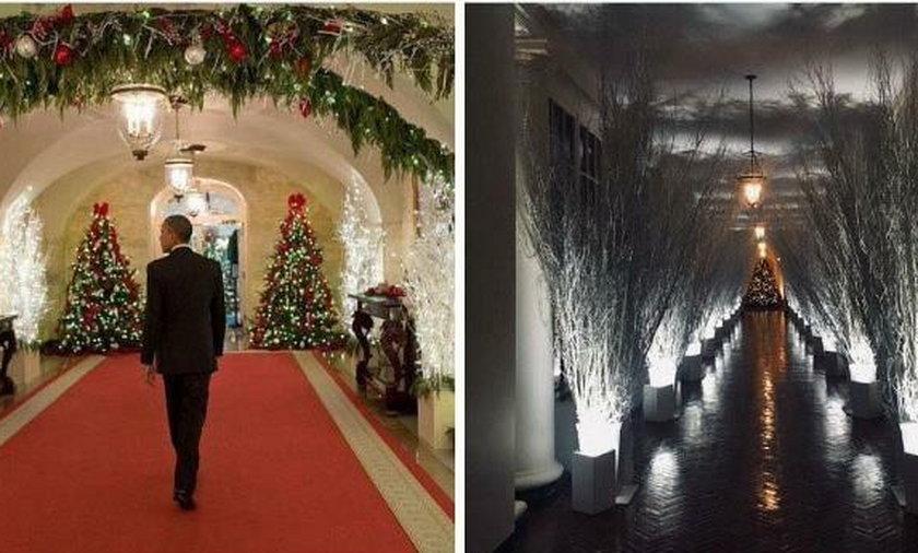 Hit internetu! Tak wyśmiewają dekoracje Melanii Trump w Białym Domu