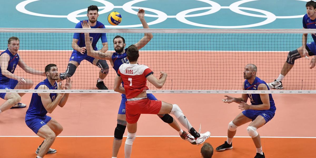 Siatkówka: Polska przegrała z Rosją 2:3 - Igrzyska olimpijskie