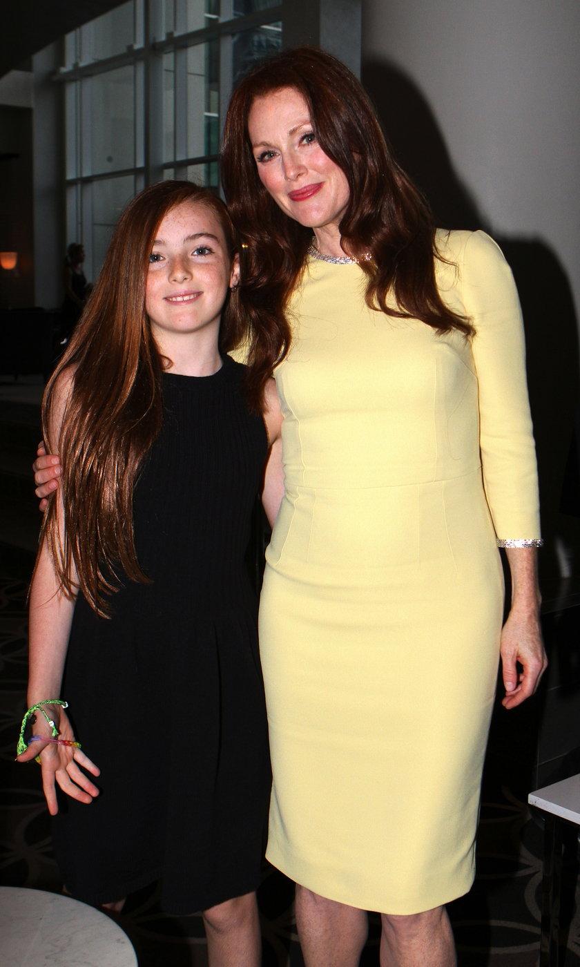 Julianne Moore z córką