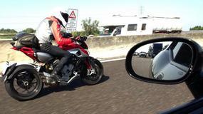 MV Agusta Rivale przyłapana podczas testów!