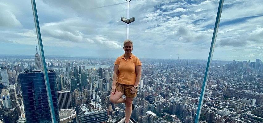Mistrzyni olimpijska poleciała do USA. Anita góruje nad Nowym Jorkiem