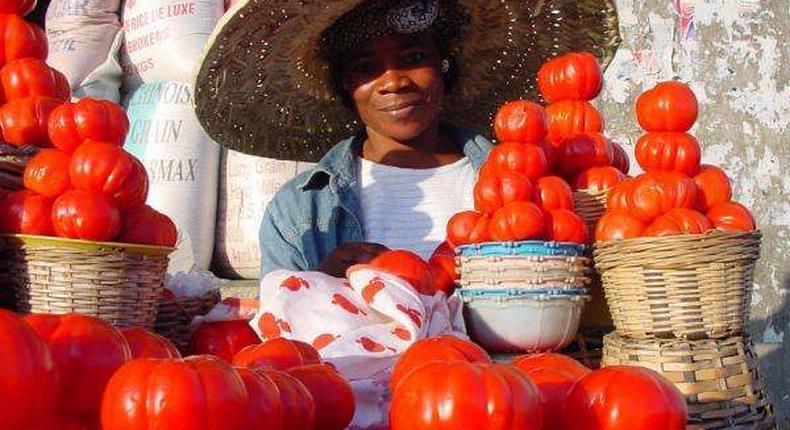 Ghanaian Food Market