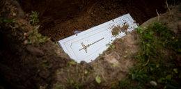 Pogrzeb noworodka znalezionego w sortowni śmieci