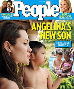 Za sesję z adoptowanym Paxem Thien Angelina otrzymała 2,1 mln dolarów