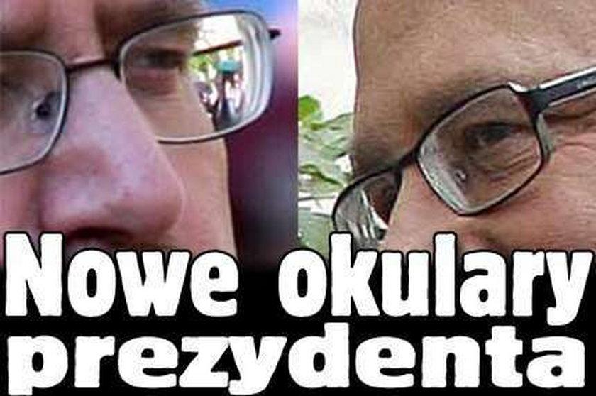 Nowe okulary prezydenta