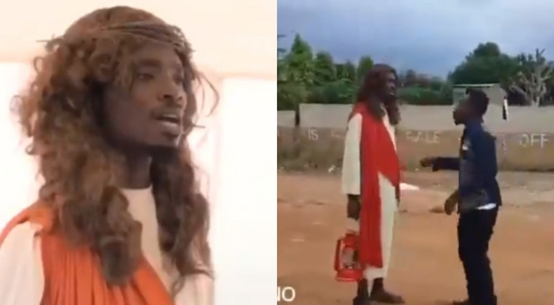 This local Jesus Christ is the funniest person on Ghana's internet right now