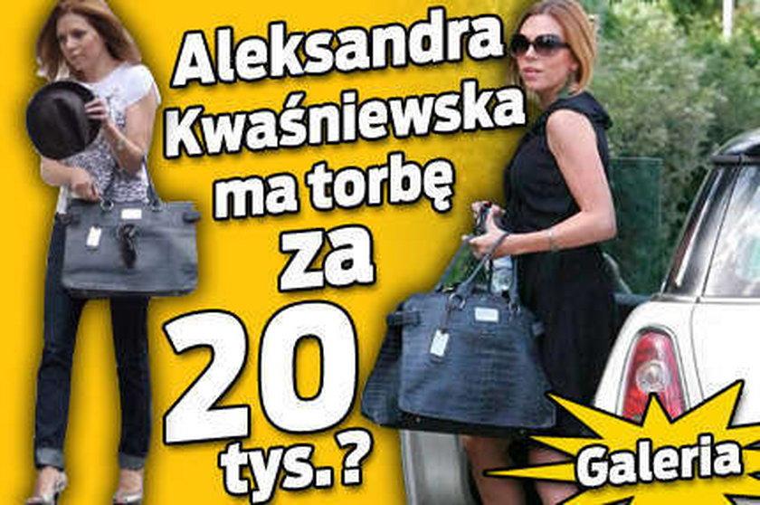 Ola Kwaśniewska ma torbę za 20 000 złotych?
