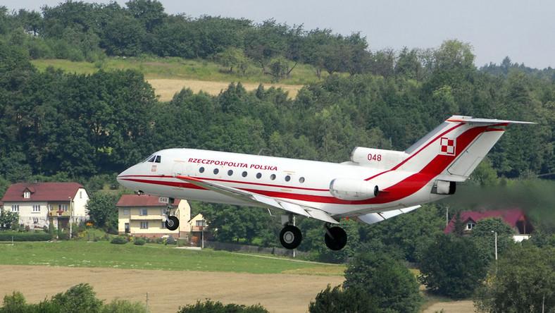 Prezydent poleciał do Juraty rządowym samolotem