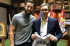 Vučić i NBA košakraš