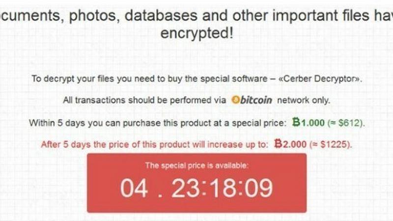 Ransomware Cerber powraca z nowymi funkcjami