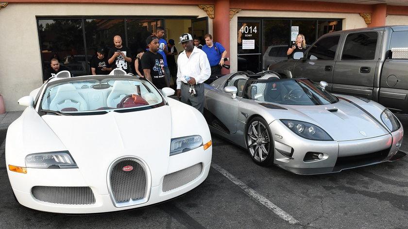 Floyd Mayweather Jr. stracił miliony. Spłonęły mu 4 auta!